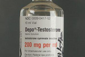Bottle of Depo Testosterone